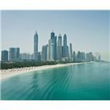 Luxusní vliesové fototapety Dubai - barevné, rozměr 325,5 cm x 270 cm