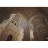 Luxusní vliesové fototapety Casablanca - sépie, rozměr 372 cm x 270 cm