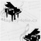 Vliesové tapety na zeď Dieter Bohlen klavír - SLEVA