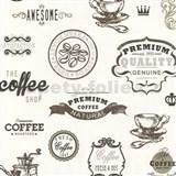 Tapety na zeď Dieter Bohlen - Coffee hnědé