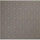 Vliesové tapety na zeď Einfach Schoner 3 geometrický vzor na šedém podkladu