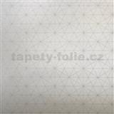 Vliesové tapety na zeď Einfach Schoner 3 geometrický vzor na bílém podkladu