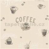 Vliesové tapety na zeď IMPOL Finesse Coffee béžové