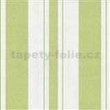 Tapety na stěnu Fresh Start pruhy zelené - MEGA SLEVA