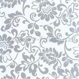 Samolepící tapety - barokní květy 90 cm x 15 m
