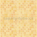 Tapety na zeď Home Sweet Home - kachličky Toscana žluté