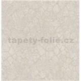 Luxusní vliesové tapety na zeď Merino abstrakt na metalicky krémovém podkladu