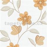 Tapety na zeď Open Air - květy oranžové