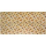 Obkladové 3D PVC panely rozměr 955 x 480 mm mozaika Marakesh hnědá