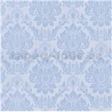Vliesové tapety na zeď Seasons zámecký vzor modrý na svetlém podkladu
