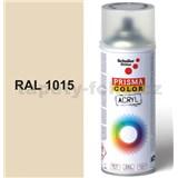 Sprej béžový lesklý 400ml, odstín RAL 1015 barva světlá slonovina lesklá