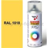 Sprej slunečně žlutý lesklý 400ml, odtieň RAL 1018 barva slunečně žlutá lesklá