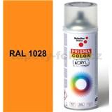 Sprej melounově žlutý lesklý 400ml, odstín RAL 1028 barva melounově žlutá lesklá