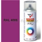 Sprej fialový lesklý 400ml, odstín RAL 4006 barva dopravní purpurová lesklá