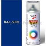 Sprej signální modrý lesklý 400ml, odstín RAL 5005 barva signálně modrá lesklá
