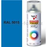 Sprej modrý lesklý 400ml, odstín RAL 5015 barva nebeská modrá lesklá