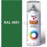 Sprej zelený lesklý 400ml, odstín RAL 6001 barva smaragdově zelená lesklá