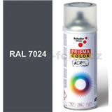 Sprej šedý lesklý 400ml, odstín RAL 7024 barva grafitově šedá lesklá