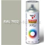 Sprej šedý lesklý 400ml, odstín RAL 7032 barva křemenově šedá lesklá