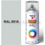 Sprej světle šedý lesklý 400ml, odstín RAL 9018 barva papyrus šedá