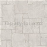 Tapety na ze� Stones and Style - horsk� k�men - b�l�