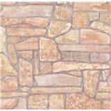 Vliesové tapety na zeď ukládaný kámen