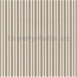Vliesové tapety na zeď Hypnose pruhy hnědé