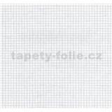 Vinylové tapety na zeď Easy Wall mozaika bílá se třpytem