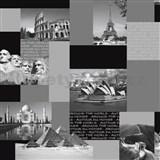 Papírové tapety World Monuments