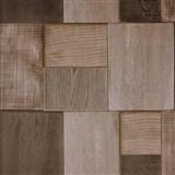 Vinylové tapety na zeď Bluff dřevěné hranoly