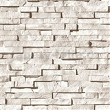 Vinylov� tapety kamenn� st�na sv�tle hn�d�