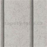 Vliesové tapety na zeďRoll in Stones  panel betonový hnědo-šedý