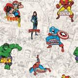 Papírové tapety na zeď IMPOL akční hrdinové