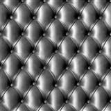 Papírové tapety na zeď IMPOL polstrovaná koženka s knoflíky černá