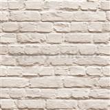 Vinylové tapety na zeď Just Like It kamenná zeď světle hnědá