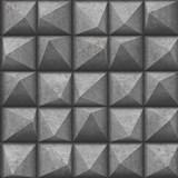 Vliesové tapety na zeď IMPOL Reflets 3D jehlany šedo-stříbrné