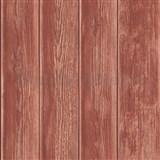 Vliesové tapety na zeď Kaleidoscope dřevěná prkna červená