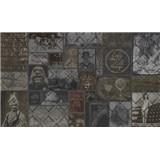 Luxusní vliesové fototapety designová stěna, rozměr 450 cm x 270 cm