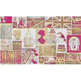 Luxusní vliesové fototapety Pink Love 450 x 270cm