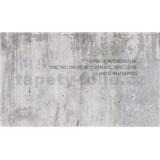 Luxusní vliesové fototapety beton, rozměr 450 cm x 270 cm