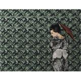 Luxusní vliesové fototapety designová stěna BEZ TEXTU, rozměr 350 cm x 270 cm