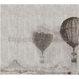 Luxusní vliesové fototapety létající balóny BEZ TEXTU, rozměr 300 cm x 270 cm