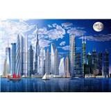 Fototapety Worlds Tallest Buildings rozměr 366 cm x 254 cm