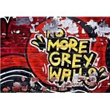 Fototapety No more Grey Walls rozměr 366 cm x 254 cm