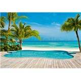 Fototapety Pool rozměr 366 cm x 254 cm
