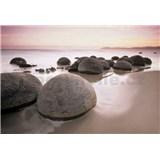 Fototapety Moeraki Boulders rozměr 366 cm x 254 cm - POSLEDNÍ KUSY
