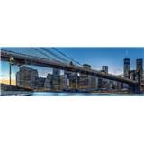 Vliesové fototapety New York rozměr 366 cm x 127 cm