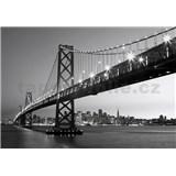 Vliesové fototapety San Francisco Skyline rozměr 366 cm x 254 cm - POSLEDNÍ KUSY