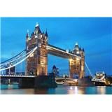Vliesové fototapety Tower Bridge rozměr 366 cm x 254 cm