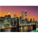 Vliesové fototapety New York City rozměr 366 cm x 254 cm - POSLEDNÍ KUSY